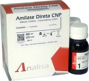 Reagente AMILASE DIRETA - CNP - MHLab