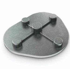 Placa de Montagem (metálica) - Bio-Art