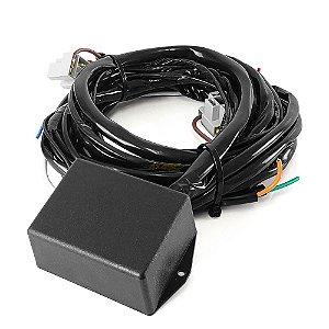 Módulo Canceller C/ Chicote e Adaptador H4 para Farol LED - Troller 2015+ T4 e TX4