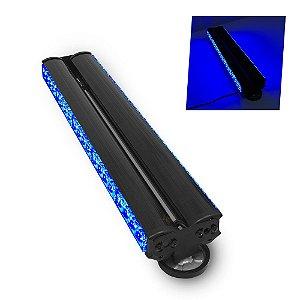 Giroflex Giro LED Duplo - Plataforma Guincho Reboque Sinalizacao - 57cm 12V - Azul