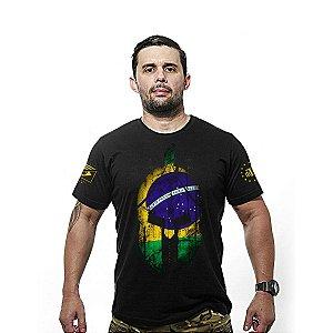 Camiseta estampada Si Vis Pacem Para bellum Brasil - Team six