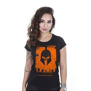 Camiseta feminina baby look Si vis pacem Para bellum - Team six