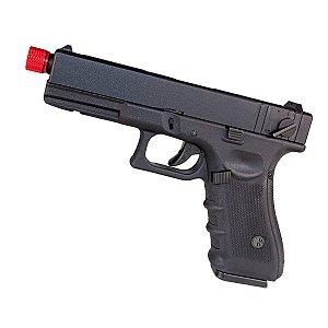 Pistola de airsoft Glock G18 R18 Rossi á gás (GBB) Blowback/Slide metal - Cal. 6mm