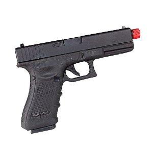 Pistola de airsoft Glock G17 R17 Rossi á gás (GBB) Blowback/Slide metal - Cal. 6mm