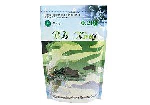 Esferas plásticas BBs BB King 0.20g (Brancas) - 4000 un