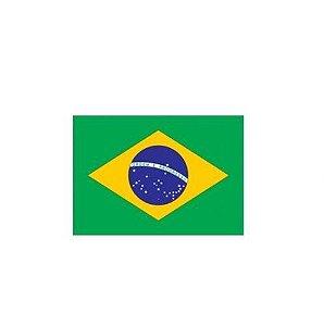 Adesivo Bandeira do Brasil