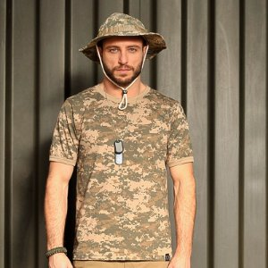 Camiseta Camuflada Digital Army - Bravo