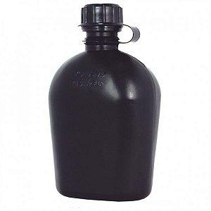 Cantil de hidratação em polipropileno 900ml Bélica - (Preto/Verde)