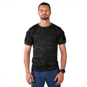 Camiseta T-shirts Ranger Bélica Com bolsos - Multicam black
