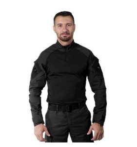 Combat Shirt Steel Bélica - Preta
