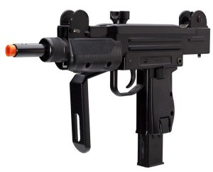 Submetralhadora de airsoft Uzi KWC CO2 Blowback Full metal - Cal. 6mm