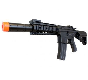 Rifle de airsoft elétrico AEG M4A1 Silencer Cyma CM513 - Cal. 6mm