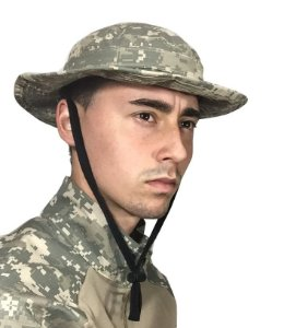 Chapéu Boonie Hat camuflado Bravo - Digital areia