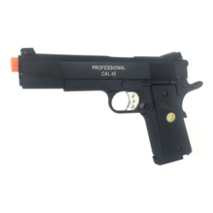 Pistola de airsoft Springfield Armory 1911 Double bell á gás (GBB) Blowback/Full metal - Cal. 6mm