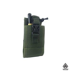 Bolso modular porta rádio Police Warfare - Verde oliva