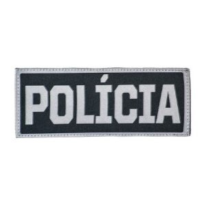 "Patch bordado ""POLÍCIA""  (G) - Warfare"