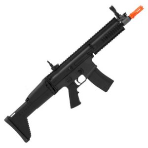 Rifle de airsoft elétrico AEG SCAR-LABS Cyma CM067BK - Cal. 6mm