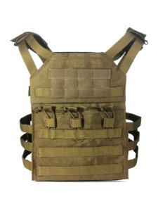 Colete tático modular Plate carrier Bravo - Coyote