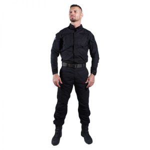 Calça tática camuflada Combat Bélica - Preta