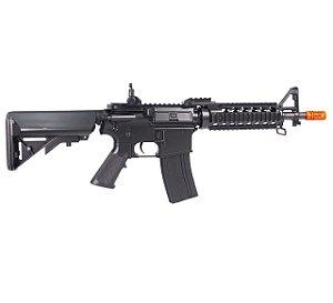 Rifle de airsoft elétrico AEG CYMA M4A1 CQB RAS II CM505 - Cal. 6mm