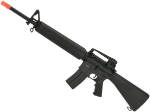 Rifle de airsoft elétrico AEG CYMA M16A4 RIS CM507 Full metal - Cal. 6mm