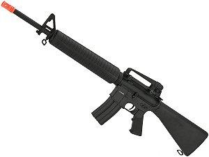 Rifle de airsoft elétrico AEG CYMA M16A4 RIS CM507 Full metal - Cal. 6mm