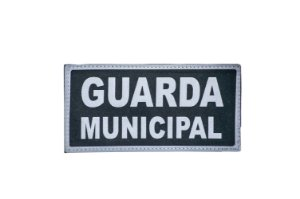"Patch bordado ""GUARDA MUNICIPAL""  (M) - Warfare"