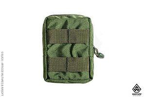 Bolso modular utilitário Pequeno Warfare - Verde