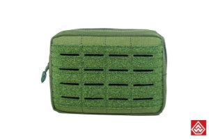 Bolso modular utilitário Horizontal Médio Warfare - Verde oliva
