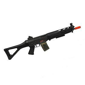 Rifle de airsoft elétrico AEG Jing Gong 552 Sig Sauer (SIG-081) - Cal. 6mm