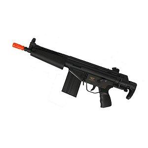 Rifle de airsoft elétrico AEG Jing Gong Heckler & Koch HK G3A4 (T3-108) - Cal. 6mm