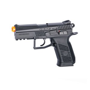 Pistola de airsoft CZ 75 P-07 ASG á gás CO2 Blowback Slide metal - Cal. 6mm