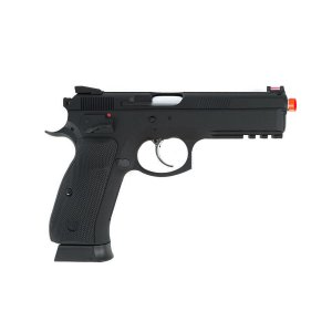Pistola de pressão Airgun CZ SP-01 SHADOW ASG á gás CO2 GNBB Slide metal - Cal. 4.5mm