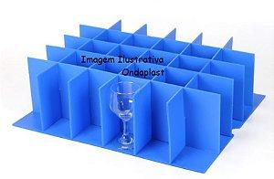 Divisória para Copos Diâmetro de 8 cm ( 24 copos)