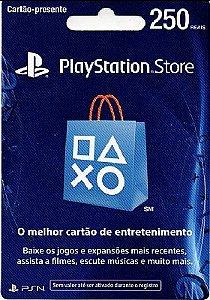Cartão PSN Brasil R$250 - Digital