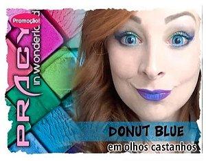 Lente Mini Sclera Donut Blue