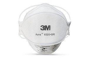 Máscara de Proteção respiratória PFF2 9320BR 3M Kit com 10 unidades