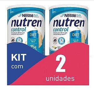Nutren Control Baunilha Pó 380g - Kit com 2 unidades