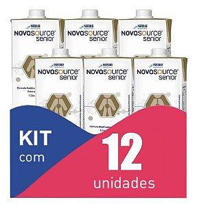 Novasource Senior 1L - Kit com 12 unidades