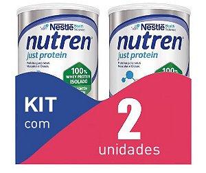 Nutren Just Protein 280g - Kit com 2 latas