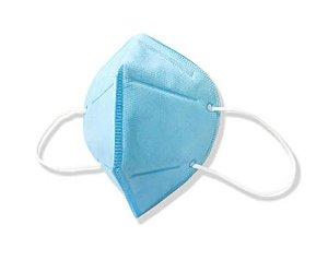 Máscara de Proteção Respiratória bico de pato Azul - 4 Me Health