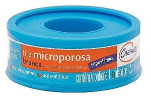 Fita Microporosa Branca Hipoalergênica Cremer 1,2 cm x 4,5 m