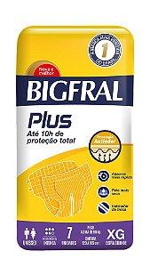 Fralda Bigfral Plus Tamanho XG