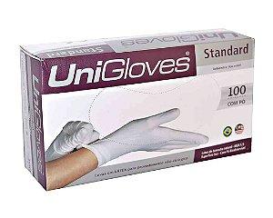 Luvas Proc. M Látex C/ Pó - UniGloves