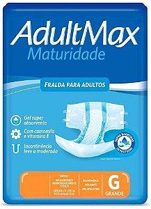 Fralda Descartável Adultmax Maturidade - Tamanho G