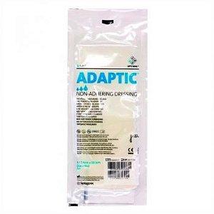 Curativo Adaptic Malha não Aderente - Envelope c/ 3 unidades 7,6cm x 20,3cm - Systagenix