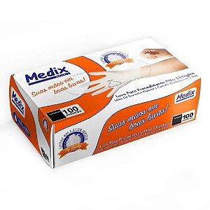 Luvas Proc. M Látex C/ Pó - Medix