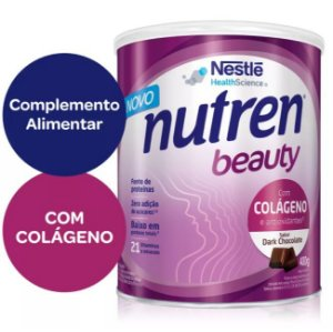 Nutren Beauty Sabor Dark Chocolate - 400 g