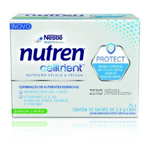Nutren Celltrient - Display com 30 Sachês de 2,5 g cada PAGUE 1 LEVE 2