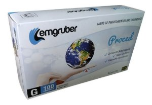 Luvas Proc. G Látex C/ Pó - Lemgruber